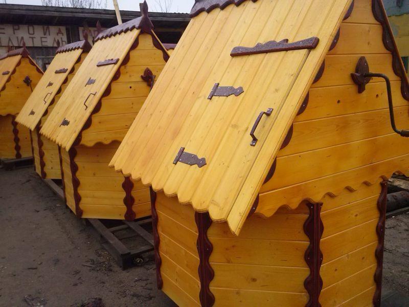 Домики для колодца от 7500 руб.